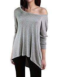 New LUOTILIA Sexy Long Off The Shoulder Tops For Women - Plus Size Baggy Shirts Tees online. Find the perfect Zeagoo Tops-Tees from top store. Sku MMGV50637YTTB52047