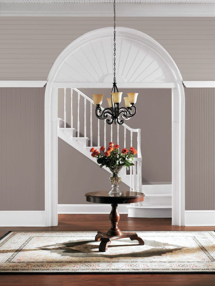 Sherwin-Williams' 2017 Color of the Year is Poised Taupe SW 6039. Balanced between warm and cool tones, this versatile neutral looks as beautiful in formally elegant settings as it does in rustic spaces.
