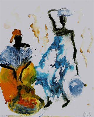 Miquel Barceló, Encore un seau d'eau Another bucket of water, 2004-2005