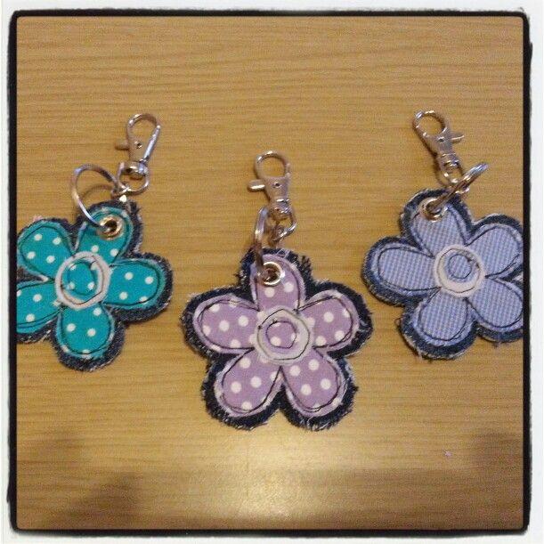 Little Flower keyrings!x