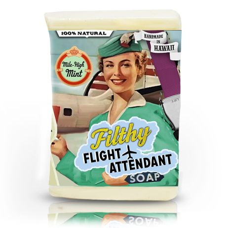 Mile High Mint In the Event of a Water Landing...Put your seat backs to the upright position and lather vigorously! 100% Natural Ingredients: Saponified Coconut, Palm, Castor & Safflower oils, Kosher