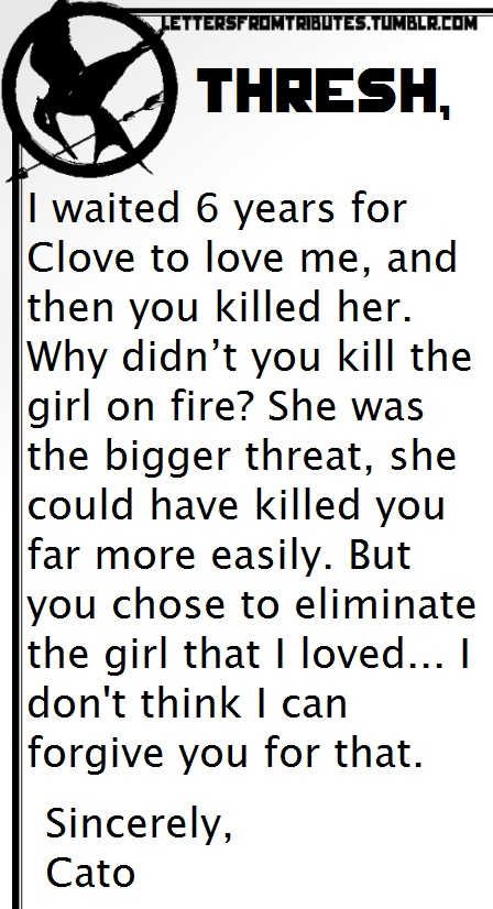 ethical killing in the hunger games Popular quotes from the hunger games book, analysis of the hunger  taking  the kids from our districts, forcing them to kill one another while we watch – this.
