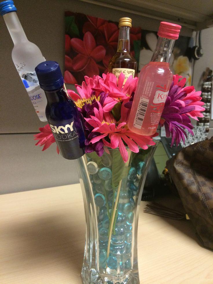 Mini alcohol bouquet!!