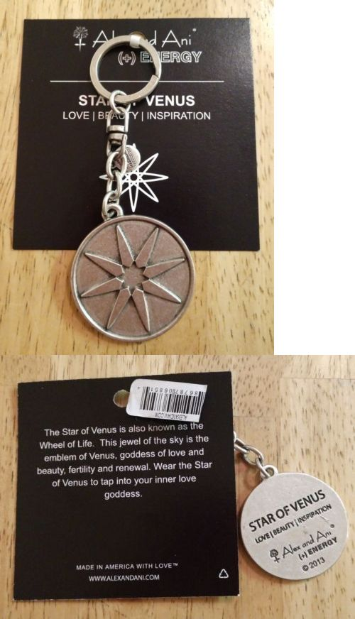 c5d6bc31a Key Chains 169280  Alex And Ani Star Of Venus Keychain - New -  BUY IT NOW  ONLY   14.99 on  eBay  chains  venus  keychain