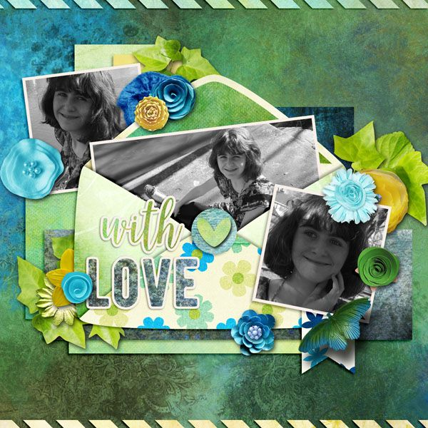 Kit used: Spring Whimsy by BooLand Designs available at http://boolanddesigns.com/shop/index.php?main_page=product_info&cPath=194&products_id=2631  Template by Digital Scrapbook Ingredients