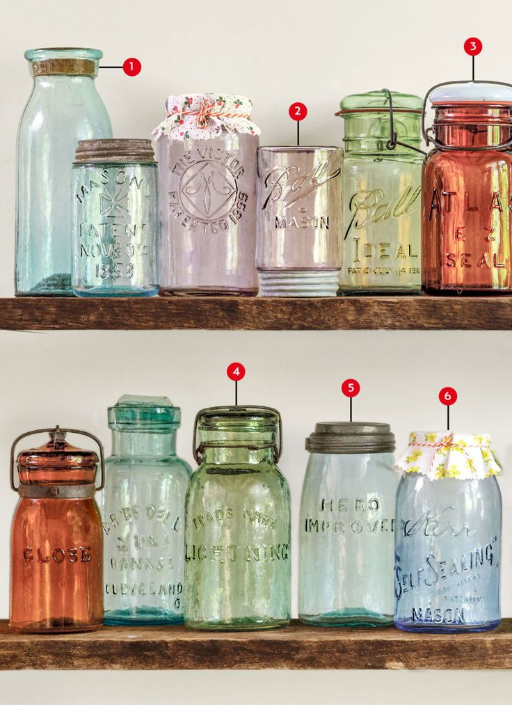 The Collector's Guide to Canning Jars - Antique Mason Jars
