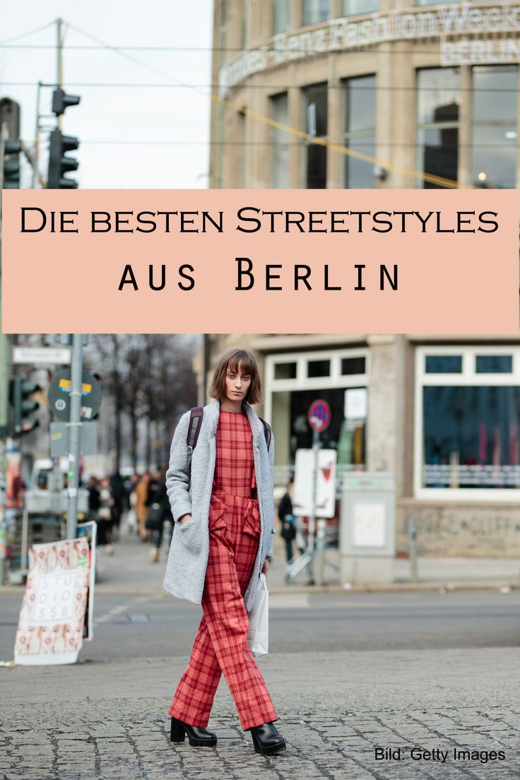 Direkt von der Berlin Fashion Week - die tollsten Streetstyles aus Berlin, hier: Karo zum Casual Bob