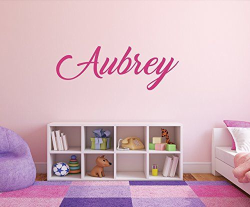 Girls Name Decal - Name Wall Decal -  Best Gifts for 10 Year Old Girls