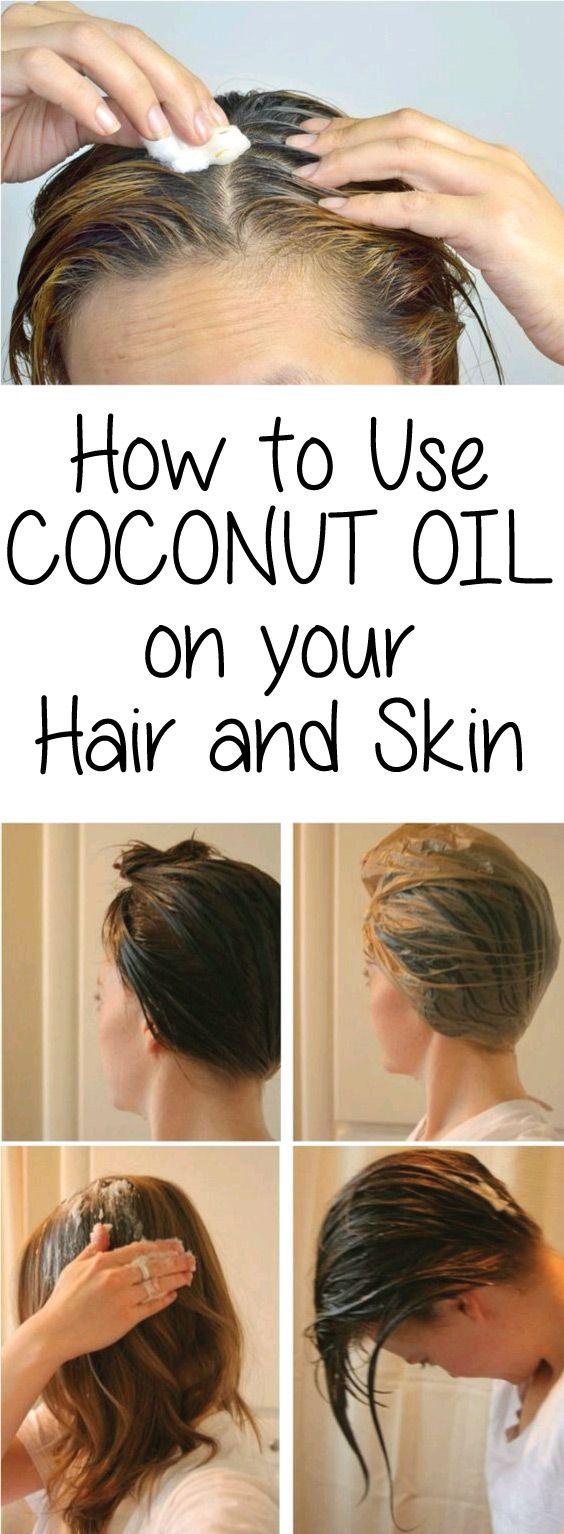 Using coconut oil is a wonderful natural way to make your hair and skin soft, radiant, and healthy. Coconut oil is natural and contains no harmful chemicals. Toss out your deep conditioners, under-eye creams, and lotions – you don't need them anymore!