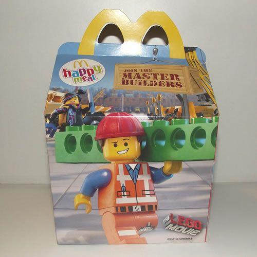 McDonalds Happy Meal Toys - The Lego Movie - 2014 : Happy ...