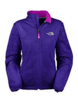 Women's North Face Osito Fleece Jackets Blue $82
