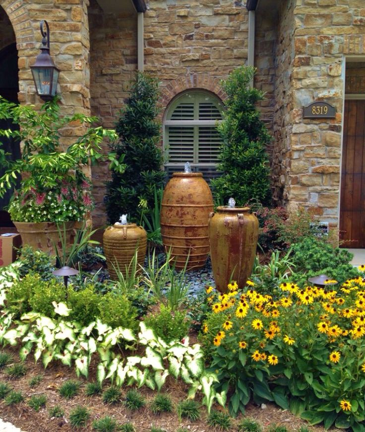 Gorgeous garden 12 best Homemade fountains images