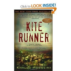The Kite Runner by Khaled Hosseini- an excellent book, made my heart break for Afghanistan.