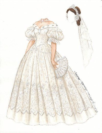 1268 best paper doll brides patterns images on Pinterest Paper