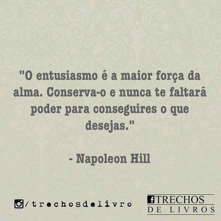 """14.9 mil curtidas, 25 comentários - Trechos De Livros (@trechosdelivro) no Instagram: """"Quem gosta de Napoleon Hill? ♂️"""""""