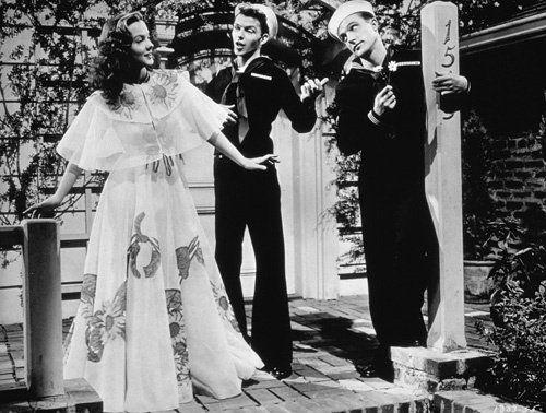 Anchors Aweigh Kathryn Grayson, Frank Sinatra, Gene Kelly 1945 MGM