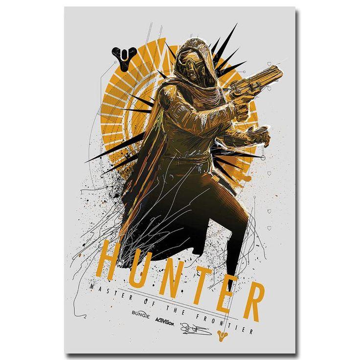 Destiny - Stylized Hunter Class Silk Poster