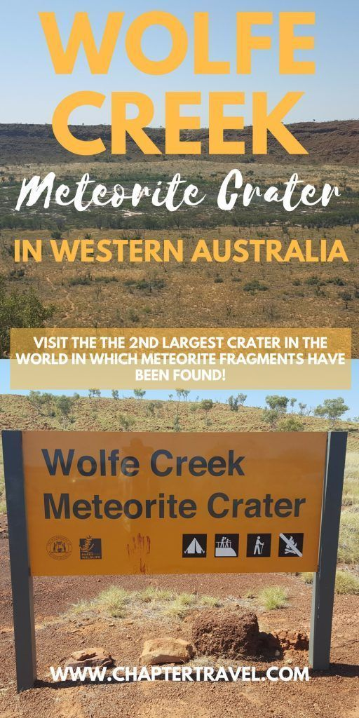 Guide to the Wolfe Creek Meteorite Crater is Wolf Creek