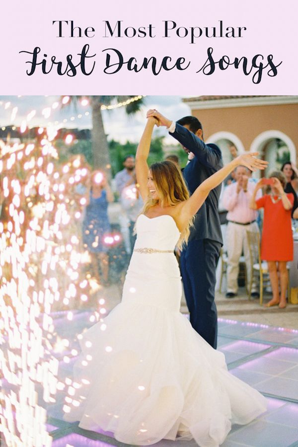 Listen To The Most Popular First Dance Songs Of This Year Top Wedding