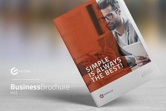 Business Brochure Vol.5 by FathurFateh on @creativemarket
