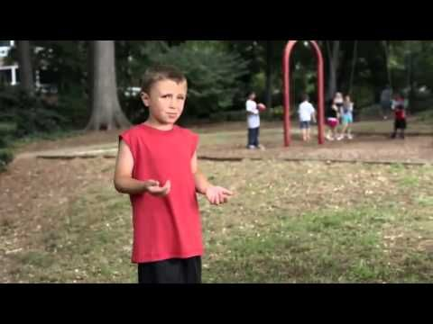 "Cam Newton Commercial for PLAY 60- ""Become your mom's favorite player"" ""woah..."""