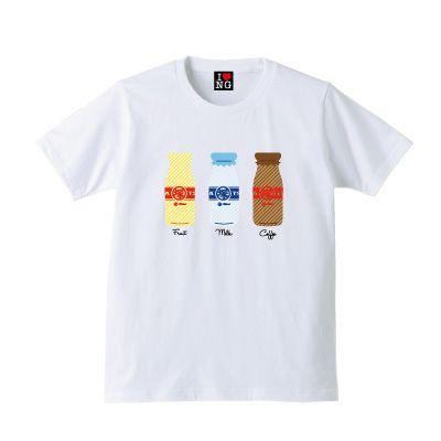 塚田牛乳2【ホワイト】 - 新潟Tシャツ委員会