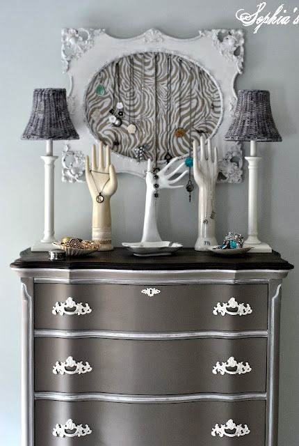 Best 25 Gray painted dressers ideas on Pinterest Grey upstairs