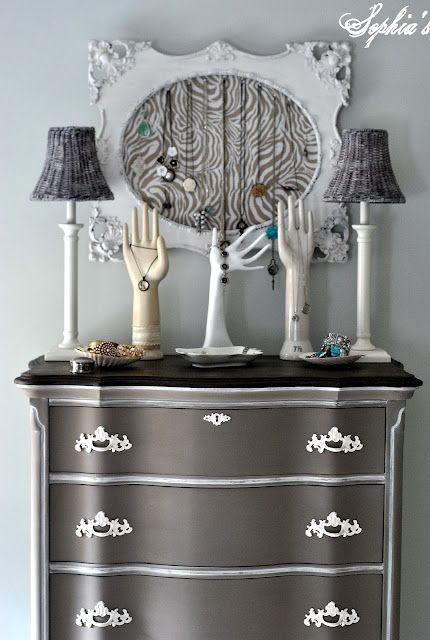 Pretty Gray Dresser