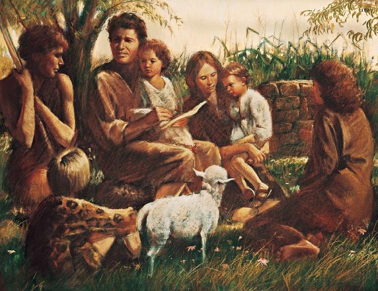 eve adam children lds fall bible god teaching seth teach adan scriptures christ were del sons lineage years jesus mormon