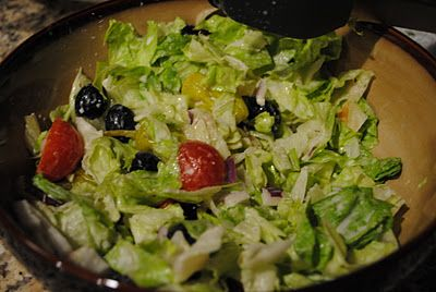 The Atwoods: Copy Cat Olive Garden Salad