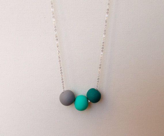 Handcrafted polymer clay necklace in Tiga, by craft & folk  https://www.etsy.com/ie/listing/219490802/tiga-handmade-polymer-clay-necklace?ref=shop_home_active_12