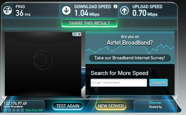 How to Test my Internet/Broadband speed in Online for free.  how to Test my internet speed online.  Nowadays computer and internet connection are one of the important thing in our daily life, particularly internet is the breath for many people