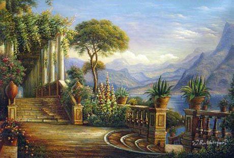 Oil Paintings  http://www.cheerfulstuff.com/paintings/oil-paintings.html