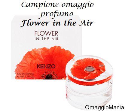 Campione omaggio profumo Flower in the Air Kenzo Parfums - http://www.omaggiomania.com/campioni-omaggio/campione-omaggio-profumo-flower-the-air-kenzo-parfums/