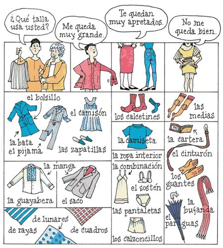 129 best images about Spanish Clothing Unit on Pinterest ...