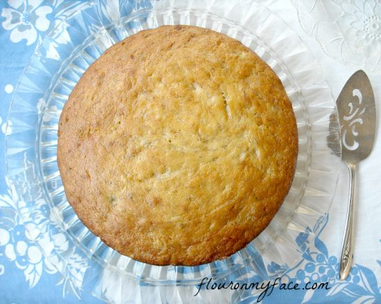Banana Cake, Frosted Banana Cake Recipe, fluffy banana cake recipe