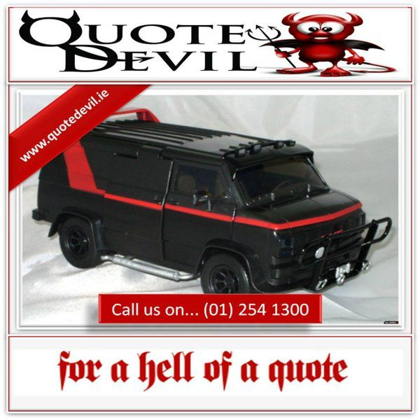 Tailored Commercial Van Insurance Package That Suits Your Needs Call  (01) 254 1300
