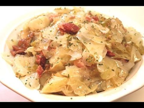Southern Cabbage Recipe | I Heart Recipes