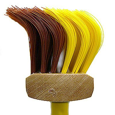 Swept away by a funny looking broom with the funny sounding name Schmutz Haken.