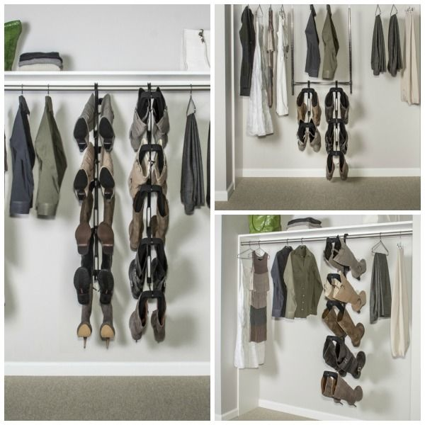Closet Organization One Boot At A Time