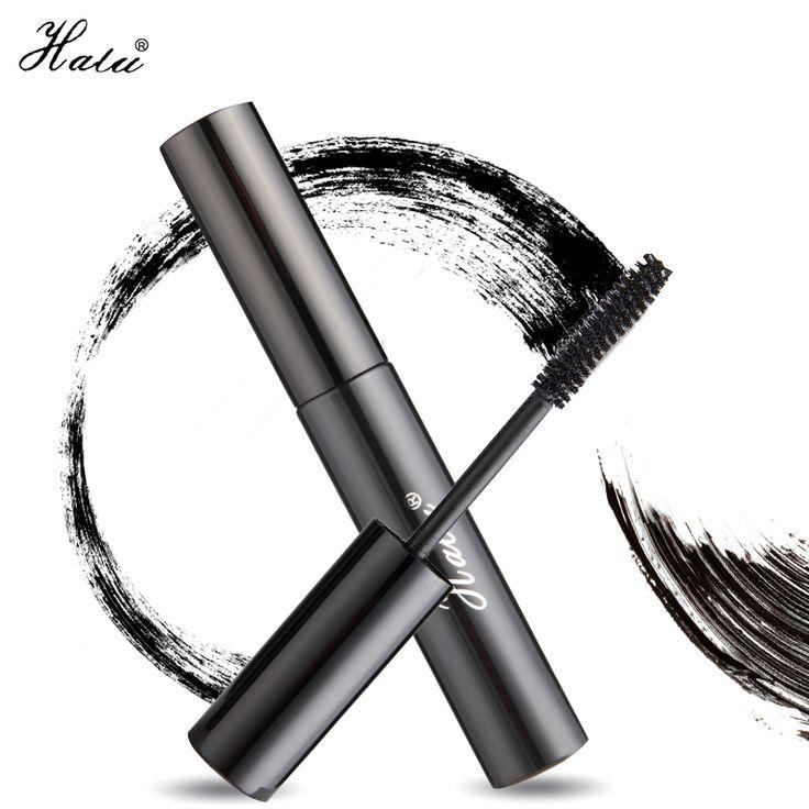 HaLu 1PCS Professional Women Ladies Makeup Black Eye Charm Waterproof permanent Mascara Curling Lengthening Mascara Cosmetics