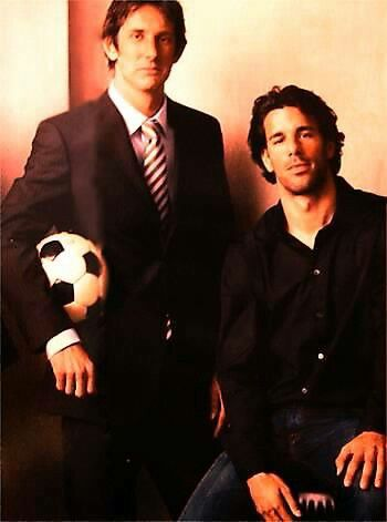 Edwin Van Der Sar  Ruud Van Nistelrooy. Our beautiful Dutchmen. One - RVP - is missing. (KM)