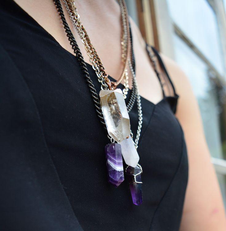 DIY STYLE | Jewellery Hack – DIY Crystal Necklace