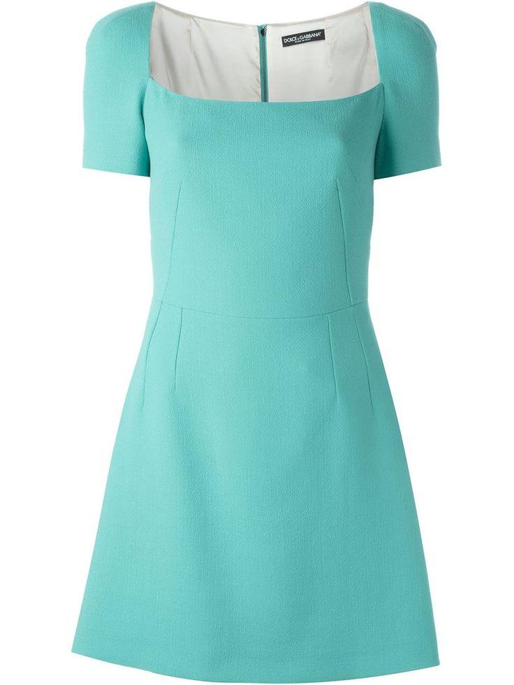 Dolce & Gabbana Vestido com decote quadrado