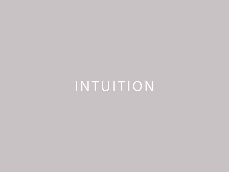 intuition  nice light font with power