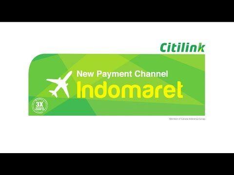 Citilink Payment Channel Tutorial: Indomaret