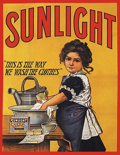 Vintage soap advertisement