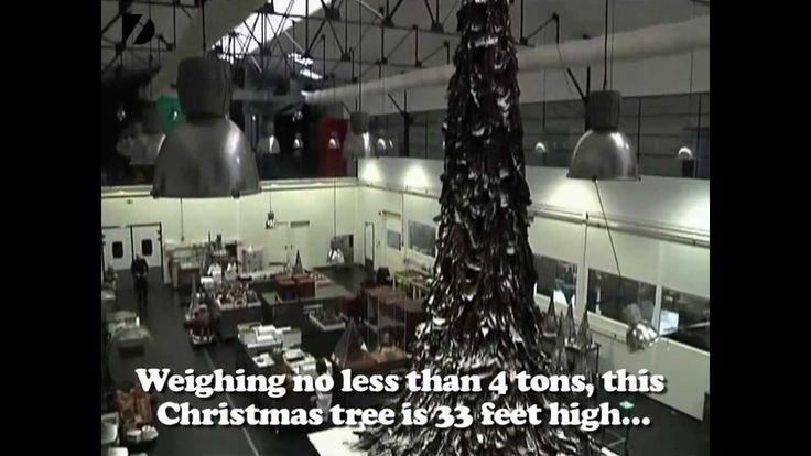 4-Ton Chocolate Christmas Tree