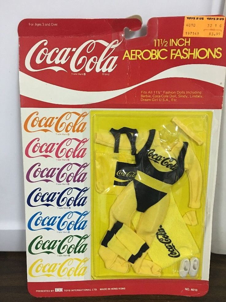 """Vintage 11 1/2"""" Barbie Coca-cola Aerobic Fashions FOR SALE • $20.00 • See Photos! Money Back Guarantee. Vintage 11 1/2"""" Barbie Coca-cola Aerobic Fashions Please refer to photos for full product details. ~~~~Disclaimer!~~~~ This item may have WEAR,,,,,,,, So AGAIN, please, Look at ALL the photos closely 382141352271"""