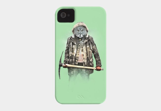 Blizzard Owl Phone Case By Daniacdg Design By Humans